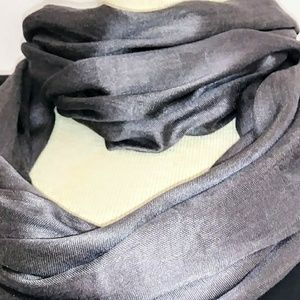 Accessories - PEWTER Gray Infinity Scarf #hundredsofscarves